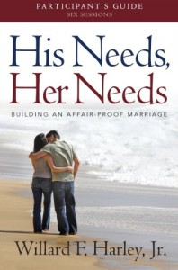 His Needs, Her Needs Participant's Guide: Building an Affair-Proof Marriage (A Six-Session Study) - Willard F. Harley Jr.