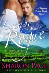 Escape with a Rogue - Sharon Page