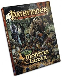 Pathfinder Roleplaying Game: Monster Codex - Jason Bulmahn, Paizo Publishing