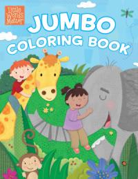 Little Words Matter Jumbo Coloring Book - B&H Kids Editorial Staff
