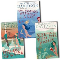 MaryJanice Davidson Collection Fred The Mermaid Trilogy 3 Books Set Pack (Swimming Without a Net, Fish Out of Water, Sleeping with the Fishes) - Mary Janice Davidson