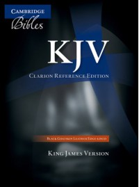 KJV Clarion Reference Edition - Anonymous Anonymous