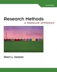 Research Methods: A Modular Approach - Sherri L. Jackson