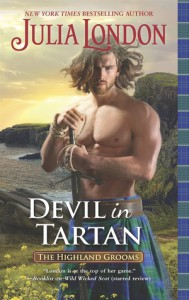 Devil in Tartan (The Highland Grooms) - Julia London