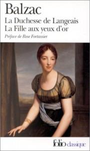 La Duchesse de Langeais; La fille aux yeux d'or - Honoré de Balzac