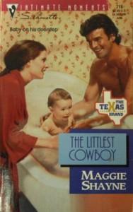 The Littlest Cowboy (The Texas Brand, #1) - Maggie Shayne