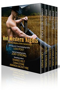 Hot Western Nights: A sizzling collection of first-in-series books - Lexi Post, Desiree Holt, Ciana Stone, Amanda McIntyre, Jory Strong
