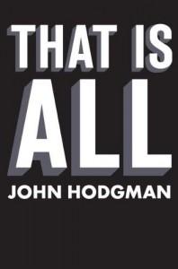 That is All - John Hodgman