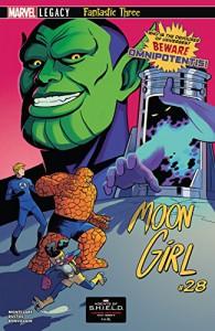 Moon Girl and Devil Dinosaur (2015-) #28 - Natacha Bustos, Brandon Montclare