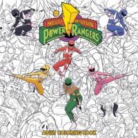 Mighty Morphin Power Rangers Adult Coloring Book - Hendry Pratsetya, Jamal Campbell, Goni Montes