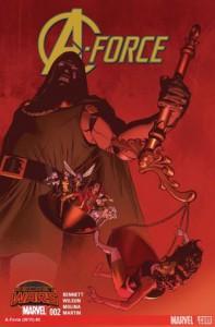 A-Force #2 - G. Willow Wilson, Marguerite Bennett, Jorge Molina