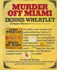 Murder Off Miami  - Dennis Wheatley