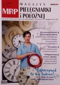 Magazyn pielęgniarki i położnej nr 7-8/lipiec-sierpień 2018 - praca zbiorowa
