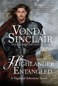 Highlander Entangled (Highland Adventure) (Volume 9) - Vonda Sinclair