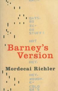 Barney's Version - Mordecai Richler