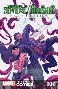 Doctor Strange/Punisher: Magic Bullets Infinite Comic #7 (of 8) - John Barber