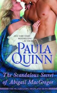 The Scandalous Secret of Abigail MacGregor - Paula Quinn