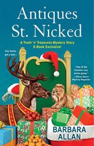 Antiques St. Nicked (A Trash 'n' Treasures Mystery) - Barbara Allan