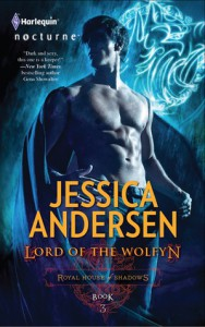 Lord of the Wolfyn (Royal House of Shadows, #3) - Jessica Andersen