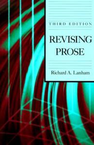 Revising Prose - Richard A. Lanham