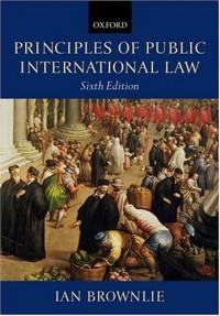 Principles of Public International Law - Ian Brownlie