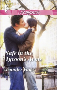 Safe in the Tycoon's Arms (Harlequin Romance) - Jennifer Faye