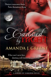 Caressed by Night - Amanda J. Greene
