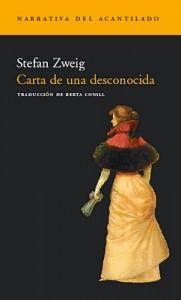 Carta de una desconocida - Stefan Zweig, Berta Conill