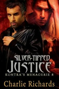Silver-Tipped Justice (Kontra's Menagerie #8) - Charlie Richards
