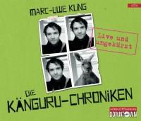 Die Känguru-Chroniken: Live und ungekürzt: 4 CDs von Kling. Marc-Uwe (2012) Audio CD - Kling. Marc-Uwe