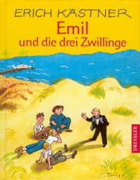 Emil und die drei Zwillinge - Erich Kästner, Walter Trier