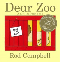 Dear Zoo: A Lift-the-Flap Book - Rod Campbell