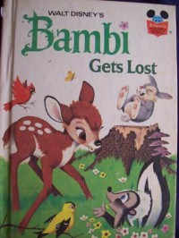 Bambi Gets Lost - Disney Book Club