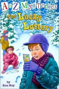 The Lucky Lottery (A to Z Mysteries Series #12) - Ron Roy, John Steven Gurney