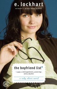The Boyfriend List: 15 Guys, 11 Shrink Appointments, 4 Ceramic Frogs and Me, Ruby Oliver (Ruby Oliver, #1) - E. Lockhart