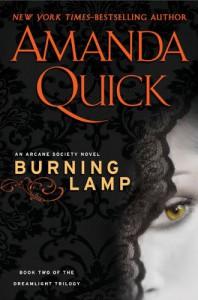 Burning Lamp (Arcane Society, #8) - Amanda Quick
