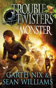 Troubletwisters: The Monster (#2) - Garth Nix