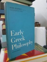 Early Greek Philosophy (Classic Reprint) - John Burnet
