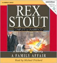 A Family Affair - Rex Stout