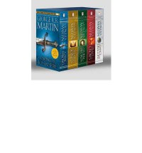 A Song of Ice and Fire, 5 Book Set Series: A Game of Thrones, A Clash of Kings, A Storm of Swords, A Feast for Crows, A Dance with Dragons - George R.R. Martin