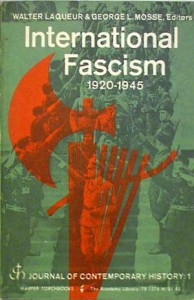International Fascism 1920-1945 - Walter Mosse, George L. Mosse