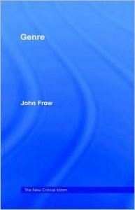 Genre - John Frow