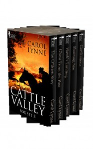 Cattle Valley Box Set 6 - Carol Lynne