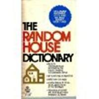 The Random House Dictionary - Jess Stein