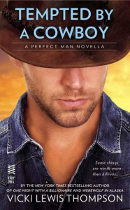 Tempted by a Cowboy - Vicki Lewis Thompson