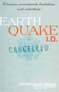 Earthquake I.D. - John Domini
