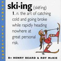 Skiing (Pocket Dictionary) - Roy McKie, Henry Beard