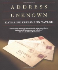 Address Unknown - Kathrine Kressmann Taylor