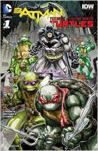 Batman Teenage Mutant Ninja Turtles #1 - James TynionIV, Freddie Williams II