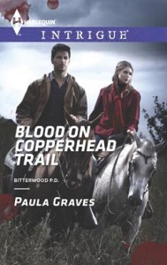 Blood on Copperhead Trail - Paula Graves
